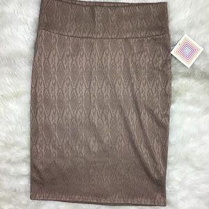 LuLaRoe Cassie Pencil Skirt L